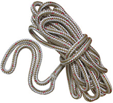 NEW ENGLAND ROPES 50501200025 DOCKLINE DB 3/8 X 25FT WHITE