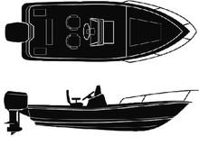 ATTWOOD MARINE 15403 POLYOFFSHORE/CTR CONS 18'-92I