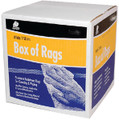 BUFFALO RAGS 10520 RAG-WIPING WHITE 4LB BOX
