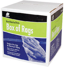 BUFFALO RAGS 12024 NEW WHITE KNIT WIPERS 25#