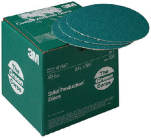 3M 01548 36E 6IN STIK-IT-GREEN 100/BX