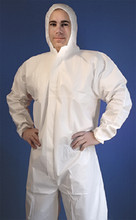 BUFFALO RAGS 68525 SMS COVERALL WITH HOOD- LARGE