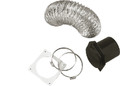 WESTLAND SALES VID403A DELUXE DRYER VENT KITWHT. ABS