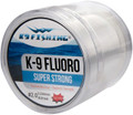 K9 550-6lb-CL Clear Fluoro Line 6lb 5554-0010