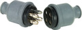 COLE HERSEE M-115-BP 4 POLE RUBBERIZED CONNECTOR