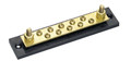 COLE HERSEE M-449-BP FUSE BLOCK TERM.10 GANG CARDED