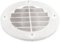 T-H MARINE LV1FWDP LOUVERED VENT COVER - WHT