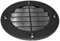 T-H MARINE LV1DP LOUVERED VENT COVER - BLK