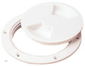 SEA-DOG LINE 337140-1 DECK PLATE -SCREW OUT 4IN WHT