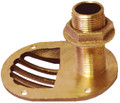 GROCO STH-750-W 3/4INSCOOP THRU-HULL WITH NUT