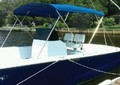 CARVER COVERS A4687UB10 3 BOW TOP KIT 85-90 GRAY