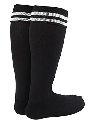 Lian LifeStyle Unisex Children 2 Pairs Knee Length Sports Socks for Baseball/Soccer