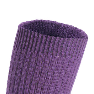 Lian LifeStyle Big Girl's Women's 1 Pair Knee High Exceptional, Non-Slip, Cozy and Cool Wool Socks FS05 Size 6-9 (Purple)