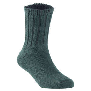 2 Pairs Children's Durable, Stretchable, Thick & Warm Wool Crew Socks. Perfect as Winter Snow Sock and All Seasons FS01 LA Size 0Y-2Y(Green)