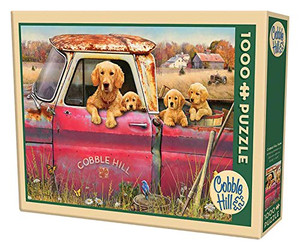 Cobble Hill Farm Jigsaw Puzzle (1000 Piece)