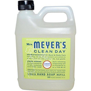 Earth Friendly, Mrs. Meyers Liquid Hand Soap Refill 33 Oz Lemon Verbena Scent - Pack of 6