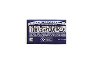 Dr. Bronner's Organic Pure Castile Peppermint Soap - 5 Oz, 5 pack