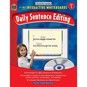 Interactive Learning: Daily Sentence Editing Grd 1