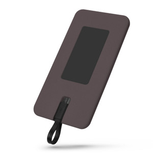 Lian LifeStyle Exceptional Portable Phone Charger w/ Dual USB Output - 6000 mAh Ultra High Capacity Power Bank , High-Speed Charging-Y4 Brown