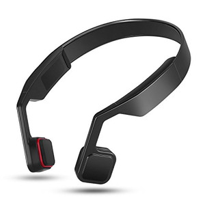 Lian Lifestyle Open Ear Wireless Bone Conduction Headphones, Bluetooth V4.2 Earphones Wireless Sports Headset Built-in Mic Sweatproof for iPhone, Android, All Other Bluetooth Enabled Devices