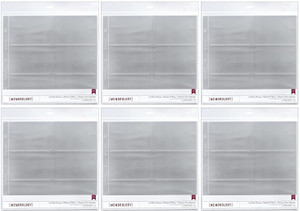 American Crafts 4x6 Photo Protector Sheets (6)