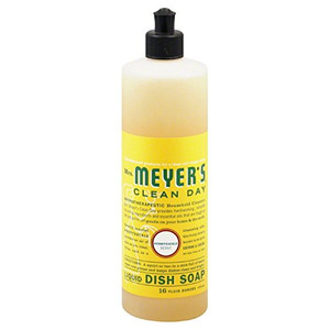 Mrs Meyers 17423 16 Oz Honeysuckle Liquid Dish Soap