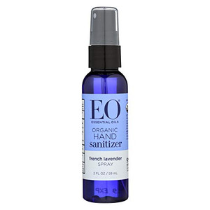 EO Hand Sanitizer Spray Organic Lavender - 2 Oz, (Pack of 18)