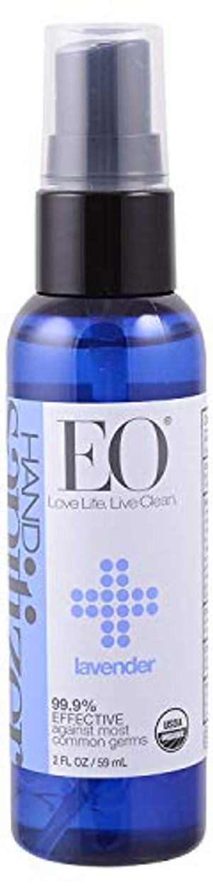 EO Hand Sanitizer Spray Organic Lavender - 2 Oz, (Pack of 24)