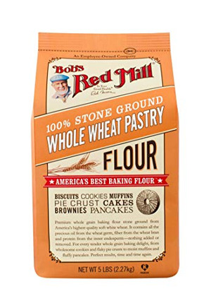 Bob's Red Mill, Whole Wheat Pastry Flour, 5 lb
