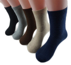 1 Pair Women's Extra Thick Cashmere Wool Socks Size 8-11 Casual Plain 40% Off