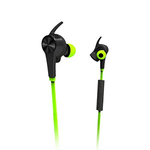 Lian LifeStyle Bluetooth Headphones In Ear Wireless Earbuds 4.1 Magnetic Sweatproof Stereo Bluetooth Earphones for Sports With Mic (Upgraded 7 Hours Play Time Secure Fit Noise Cancelling) M1 Green