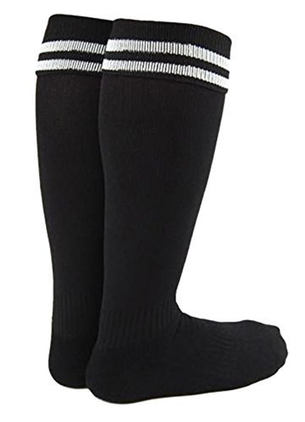 Lian LifeStyle Boy and Girl 2 Pairs Knee High Sports Socks for Baseball/Soccer