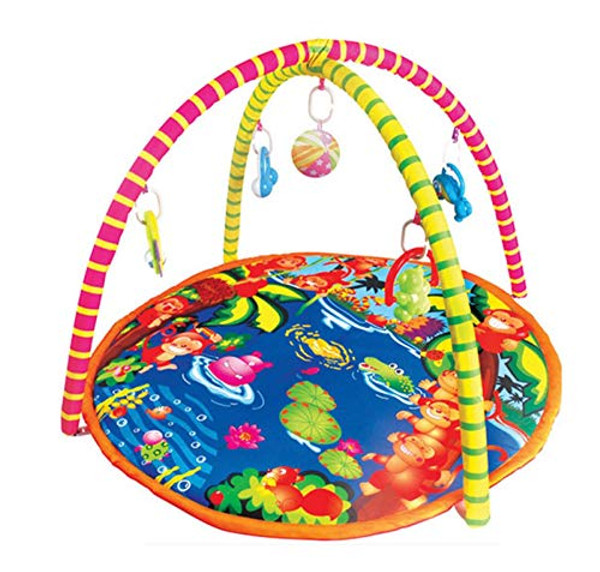 Lian LifeStyle Super Deluxe Baby Gym Carpet, Play Gym,Baby Activity Gym, Play Mat, Tummy Time Mat Style 9813