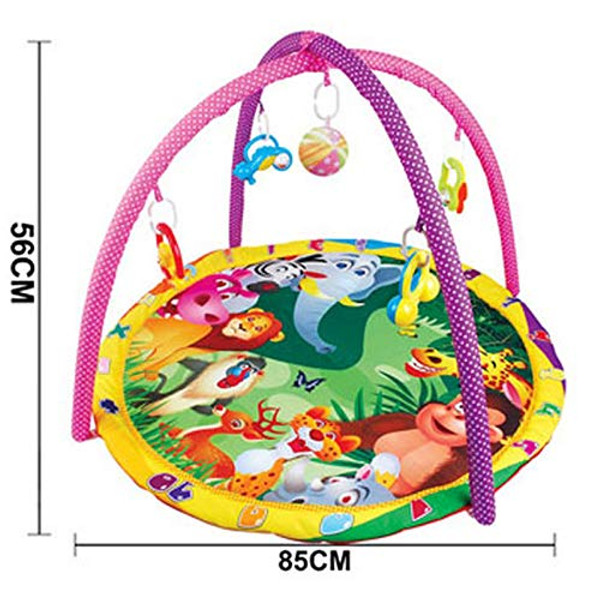Lian LifeStyle Super Deluxe Baby Gym Carpet, Play Gym,Baby Activity Gym, Play Mat, Tummy Time Mat Style 9814
