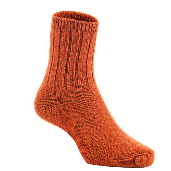 2 Pairs Children's Durable, Stretchable, Thick & Warm Wool Crew Socks. Perfect as Winter Snow Sock and All Seasons FS01 LA Size 2Y-4Y(Brown)