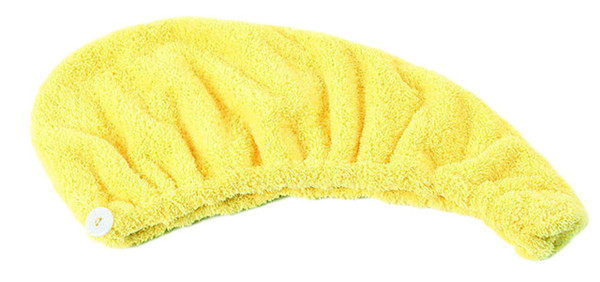 Lian LifeStyle 2 Pieces Women's Microfiber Hair Drying Towel/Cap/Hat