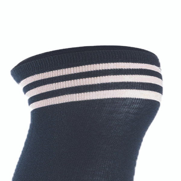 Lian LifeStyle Big Girl's Women's 3 Pairs Adorable Comfortable Soft Thigh High Over Knee High Cotton Socks Size 6-9 L1022(Navy)