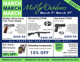 March Sales Ad is HERE!!