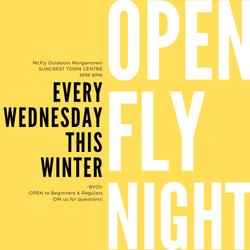 Open Fly Night