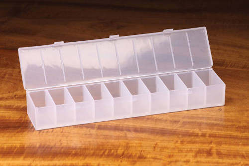 10 Compartment Ribbed Hook Box