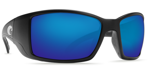 Costa Blackfin Matte Black/Blue Mirror 580G