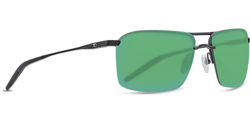 Costa Skimmer Matte Black / Green Mirror 580P