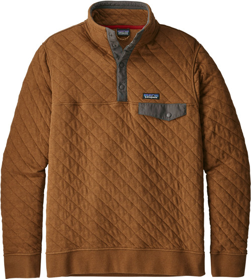Patagonia Mens Organic Cotton Quilt Snap-T Pullover