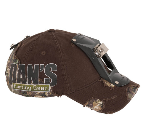 Dan's Logo Hat w/ Liner & Light Bracket