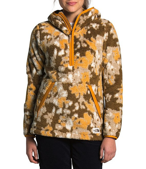 Hawthorne Khaki Abstract Ikat Flc Print