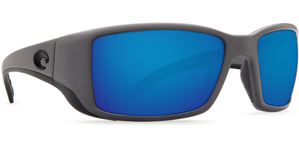 Costa Blackfin Matte Gray/Blue Mirror 580G