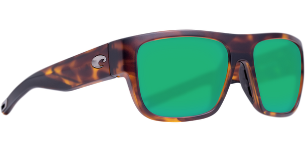 Costa Sampan Matte Tortoise Green Mirror 580G
