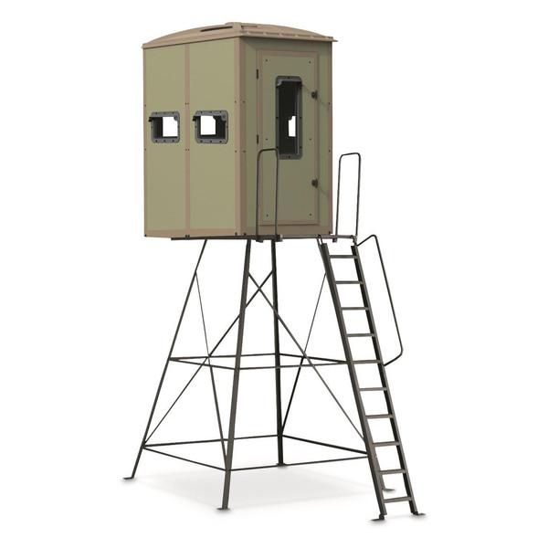 Muddy Striker Box Blind w/ 10' Elite Tower
