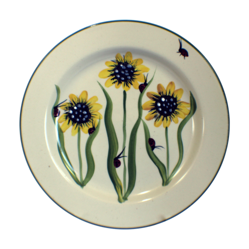 Dinner Plate in Sunflower Pattern