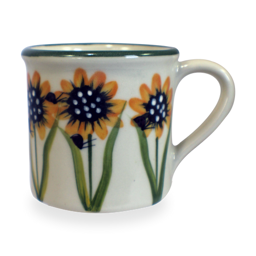 Traditional Mug in Sunflower Pattern